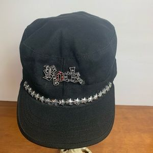 Bling Rock Woman's Hat Cap Fitted Ethoe Size Large